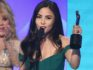Anna Akana accepts the Acting in a Drama award (Kevin Winter/Getty Images)
