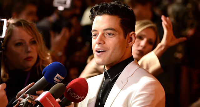 Rami Malek at the world premiere of Bohemian Rhapsody (Eamonn M. McCormack/Getty)