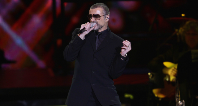 George MIchael performing live in Milan, Italy, in 2011. (Vittorio Zunino Celotto/Getty Images)