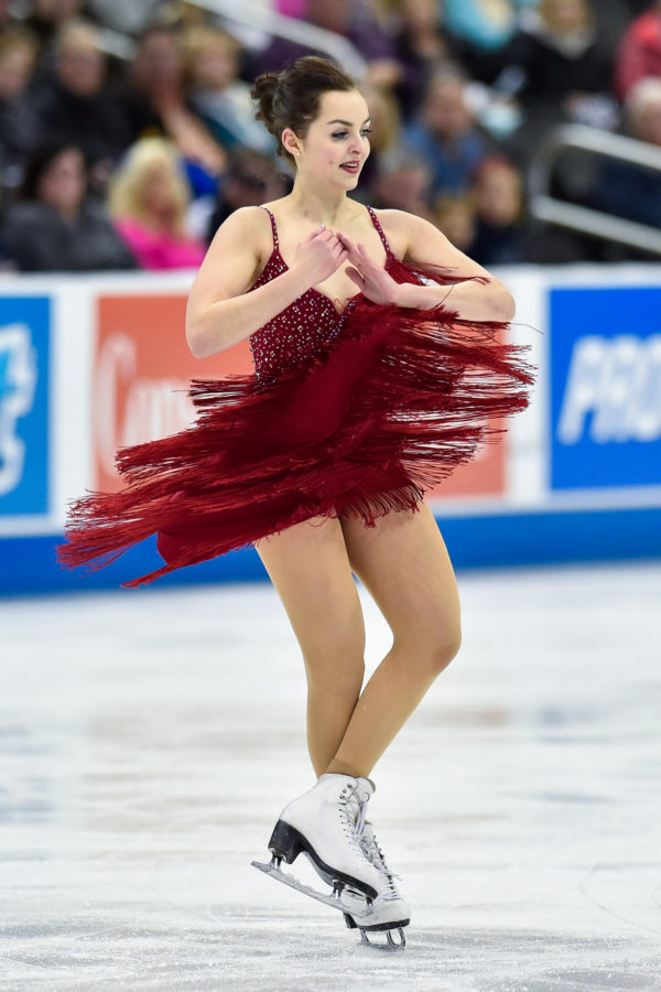 US ice dancer Karina Manta comes out in heartwarming video