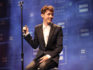 Troye Sivan performs onstage (Christopher Polk/Getty)