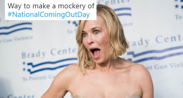 Chelsea Handler criticized for 'homophobic' National Coming Out Day tweet