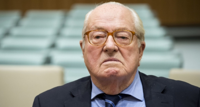 Jean-Marie Le Pen in November 2017. (JOHN THYS/AFP/Getty Images)