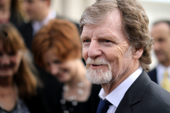 ADF client Jack Phillips, who refuses to serve LGBT+ customers