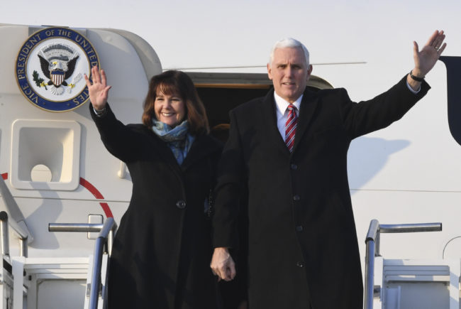 Mike Pence's wife is backing a candidate who wants to jail gay people
