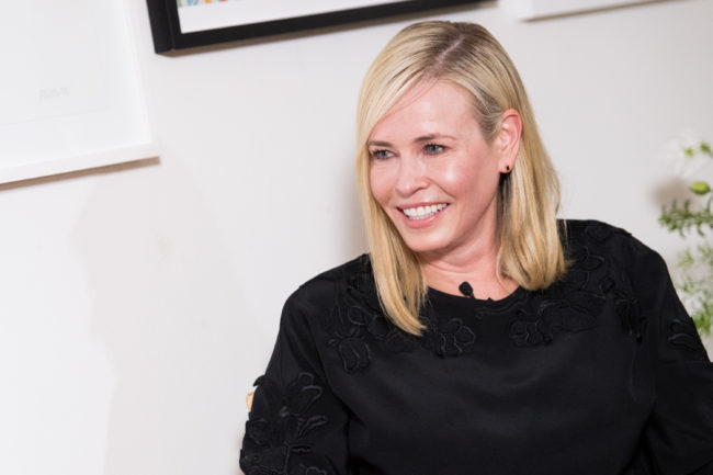 LOS ANGELES, CA - MARCH 07:  Chelsea Handler attends 'LinkedIn Hosts a panel discussion with Issa Rae and Chelsea Handler' at The Art of Elysium Center on March 7, 2018 in Los Angeles, California.  (Photo by Emma McIntyre/Getty Images)