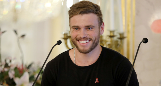 Gus Kenworthy won Olympic silver at a freestyle skiing event in 2014. (Andreas Rentz/Getty Images)