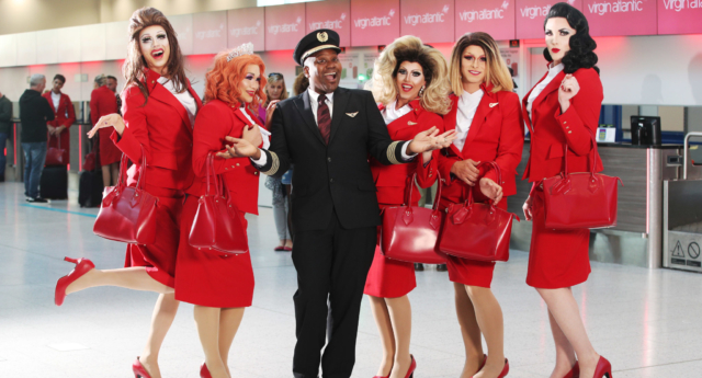 Titus Burgess will host the Proud Flight (Virgin Atlantic)