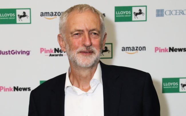 Jeremy Corbyn, who has tabled a vote of no confidence following the Brexit defeat