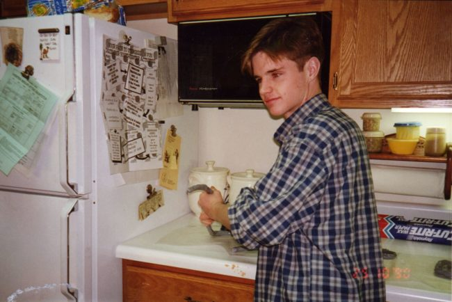 Matthew Shepard, who was laid to rest in October at Washington National Memorial