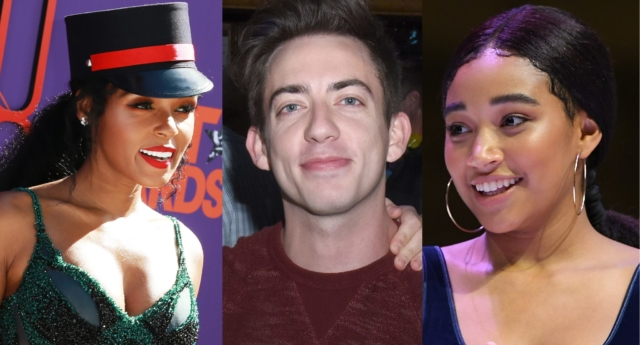 Janelle Monáe, Kevin McHale and Amandla Stenberg (Vivien Killilea/Getty, Leon Bennett/Getty and Paras Griffin/Getty)