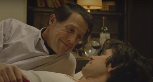 Hugh Grant and Ben Whishaw starred in the drama (BBC)
