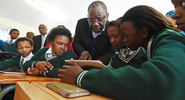 The email was sent to schools in the Eastern Cape province (GovernmentZA/flickr)