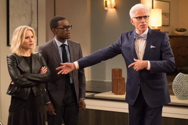 "THE GOOD PLACE -- ""Everything is Great!"" Episode 201 -- Pictured: -- (Photo by: Colleen Hayes/NBC)"