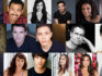 Top row from left: Caldwell Tidicue, Dickie Hearts, Daniela Vega, Juan Castano, Michelle Buteau, Matthew Risch. Middle row from left: Charlie Barnett, Paul Gross, Josiah Victoria Garcia, Murray Bartlett,  May Hong. Bottom row from left: Benjamin Thys, Samantha Soule, Christopher Larkin, Jen Richards, Ashley Park, Michael Park. (Netflix)