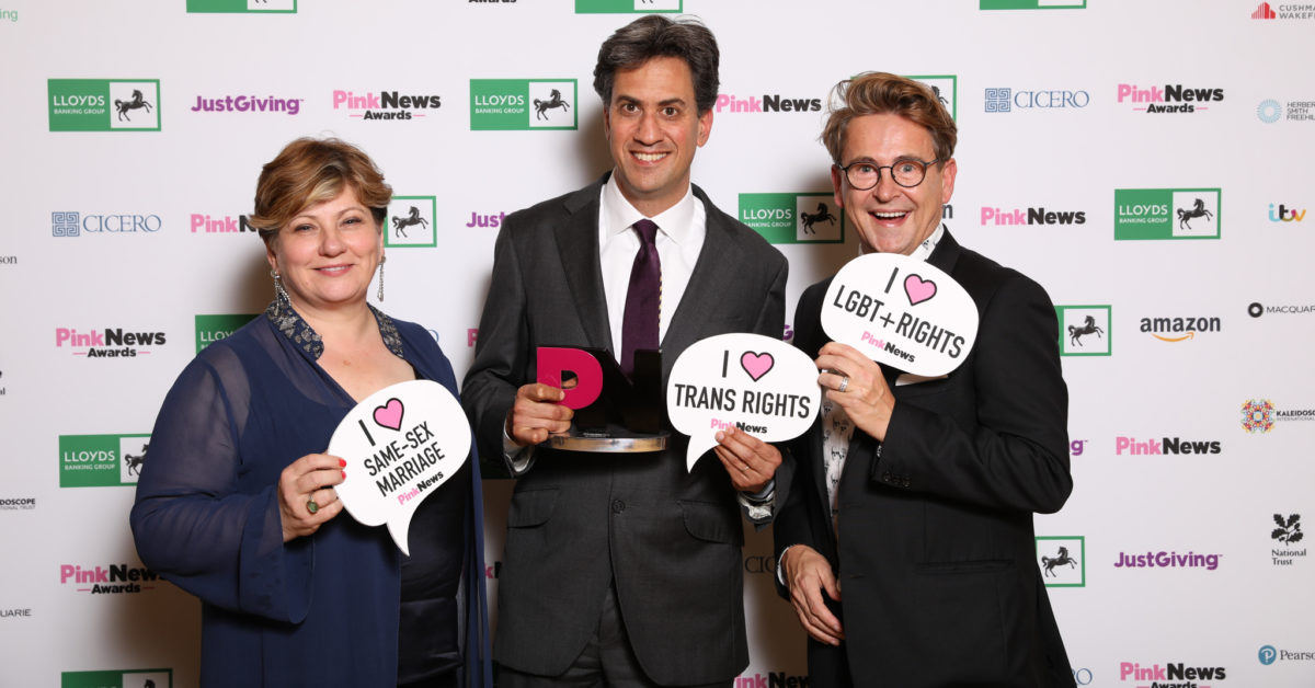 Emily Thornberry, Ed Miliband and Stephen Webbe (Paul Grace)