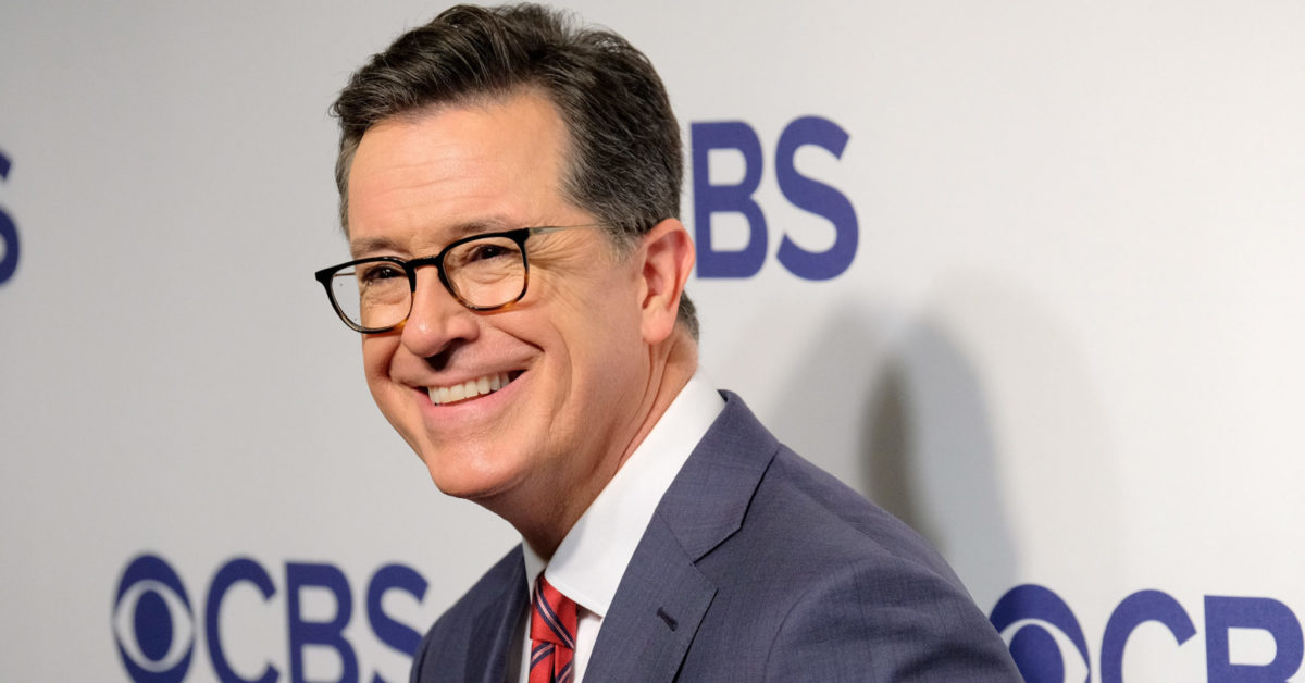 Stephen Colbert attends the 2018 CBS Upfront (Matthew Eisman/Getty)