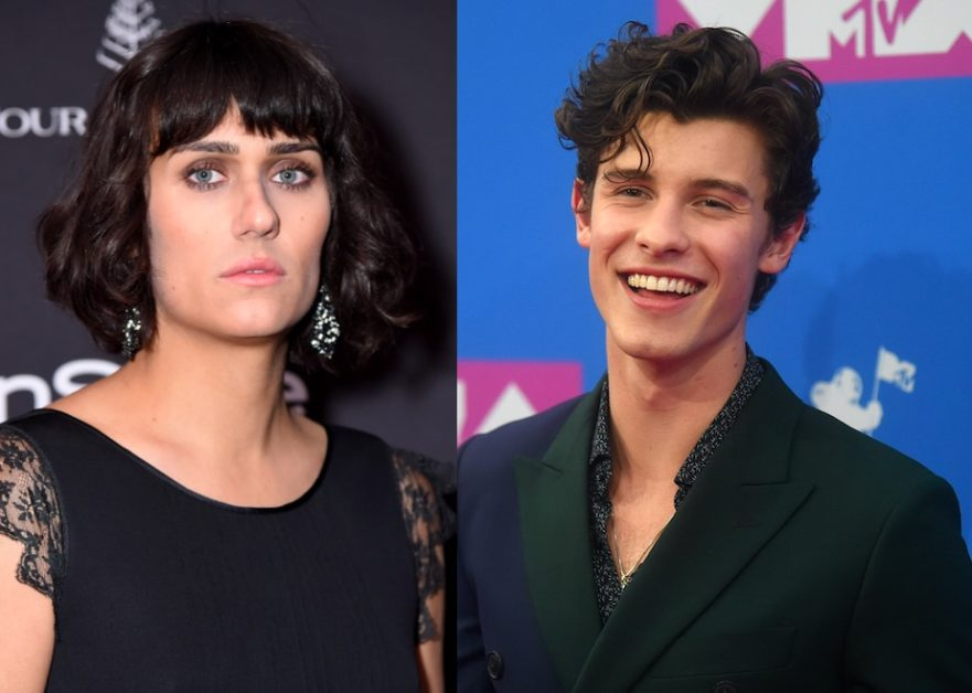 "Teddy Geiger (L) and Shawn Mendes (R) have released a cover of Queen's ""Under Pressure"" (Michael Loccisano/Getty; Jamie McCarthy/Getty)"