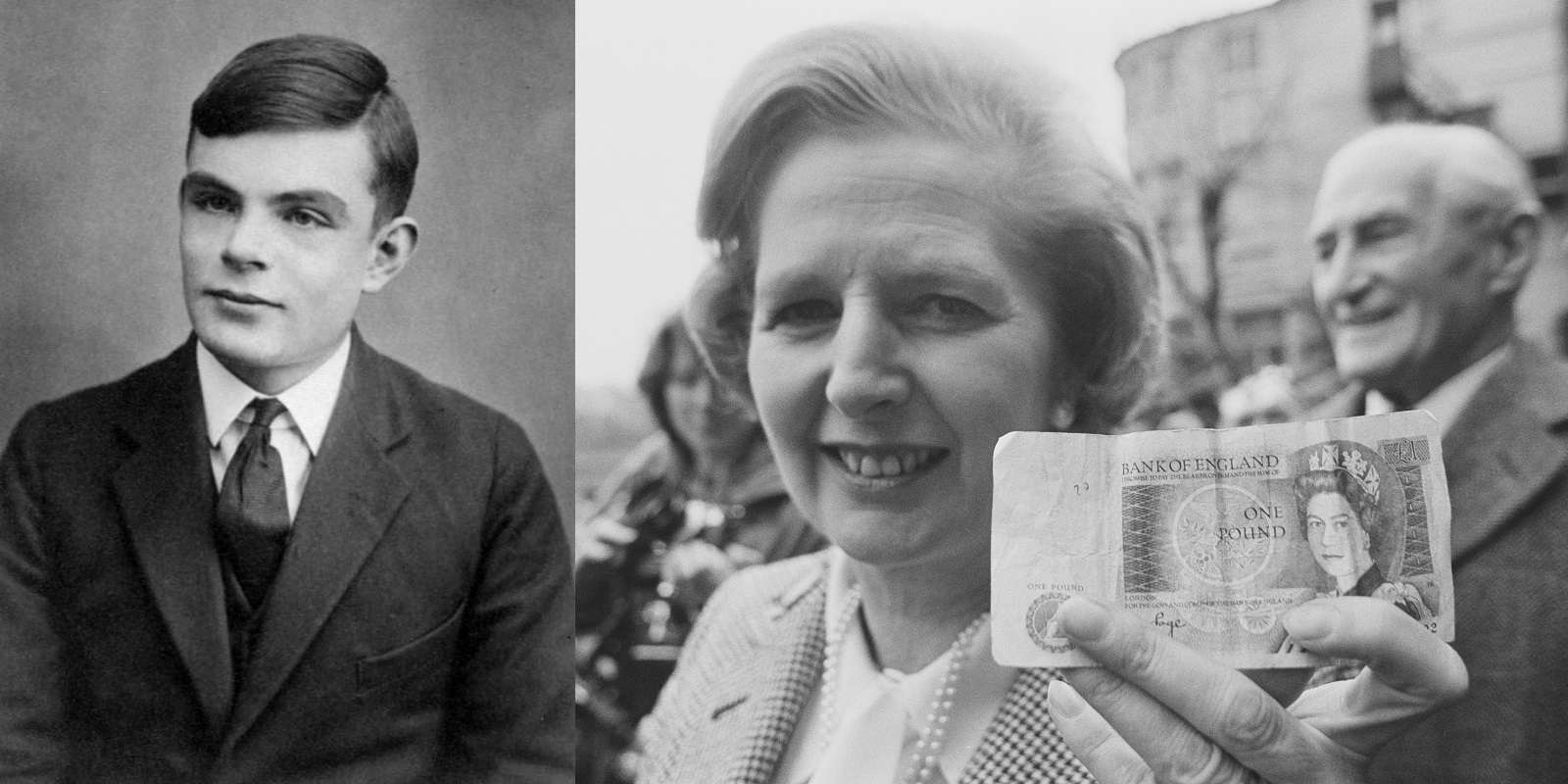 Alan Turing faces Margaret Thatcher in £50 note battle
