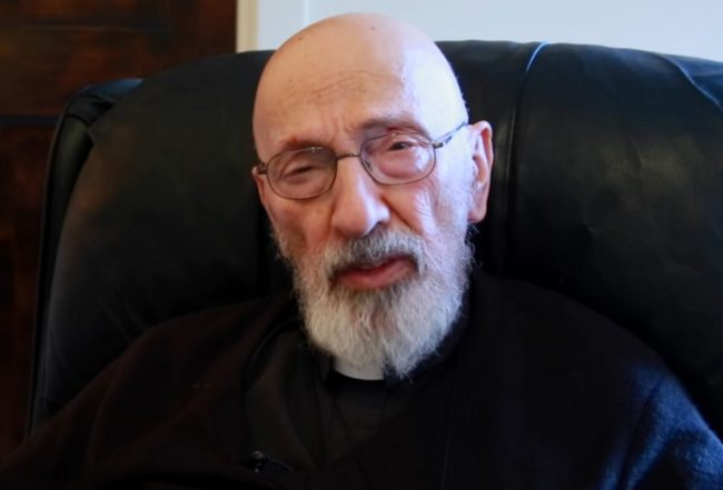 John Esseff has served as a priest in Scranton, Pennsylvania for 45 years