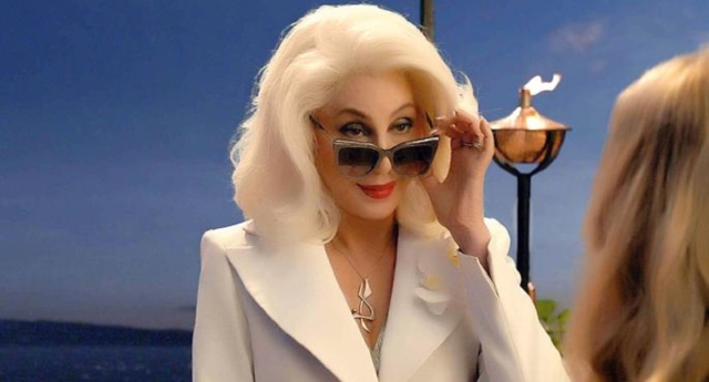Cher in Mamma Mia! Here We Go Again (Universal Pictures)