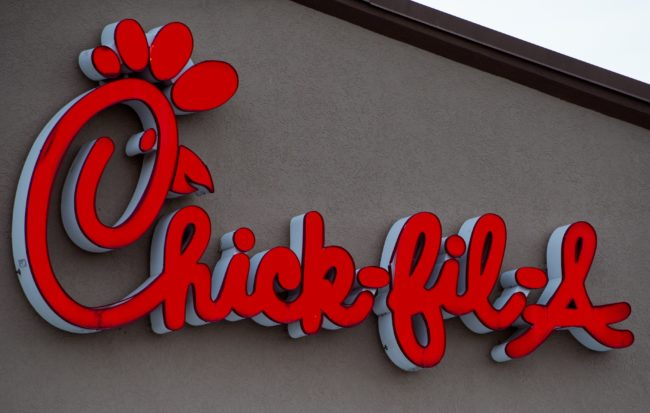 A Chick-fil-A outlet