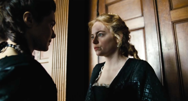 Emma Stone overruled her co-star and director to be naked in the lesbian film (fox searchlight pictures)