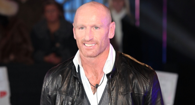 Gareth Thomas enters the Celebrity Big Brother House in 2012 (Tim Whitby/Getty)