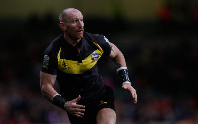 Rugby player Gareth Thomas was the victim of a homophobic attack.