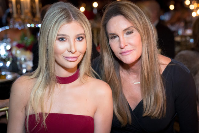 """Sophia Hutchins said she and Caitlyn Jenner are """"partners."""""""