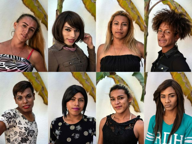 Eight portraits of some of the LGBT+ asylum seekers who traveled to Mexico with the migrant caraavn through Central America in the past month.