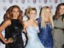 The four remaining members of the Spice Girls: Melanie Brown, Geri Halliwell, Emma Bunton and Melanie Chisholm. (Stuart Wilson/Getty Images)