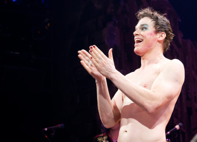 Dexter's Michael C Hall in Hedwig and The Angry Inch