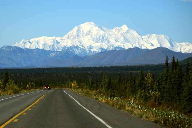The Denali National Park is close to Fairbanks, Alaska.