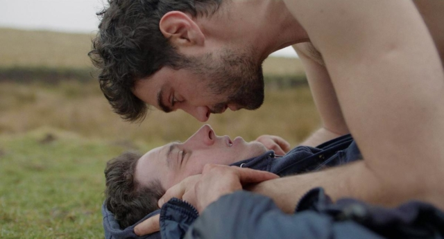 Alec Secareanu and Josh O'Connor in God's Own Country (2017). (IMDb)