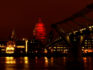 London's St Paul's Cathederal lights up red on World AIDS Day 2010 (Clive Brunskill/Getty for RED)