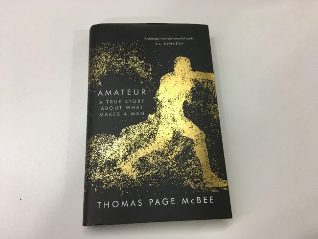 The book Amateur narrates McBee's journey to understanding masculinity and what makes it toxic.