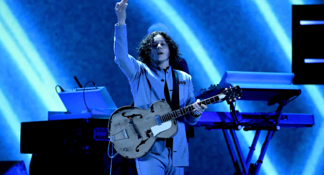 Jack White playing in Las Vegas Nevada in September 2018