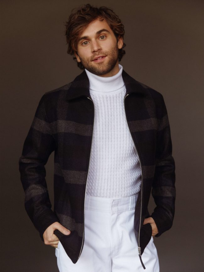 Jake Borelli, who plays Levi Schmitt on Grey's Anatomy