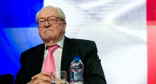 Jean-Marie Le Pen, the former leader of France's National Front (ALAIN JOCARD/AFP/Getty)