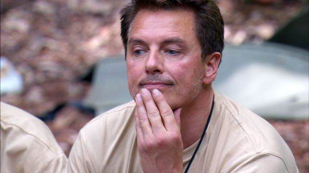 John Barrowman who is back in the I'm A Celebrity jungle after spending a night in hospital