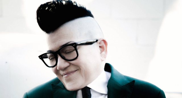 "Lea DeLaria chats to PinkNews about why it's the wrong time for hit-show ""Orange Is The New Black"" to end. (Kharen Hill)"