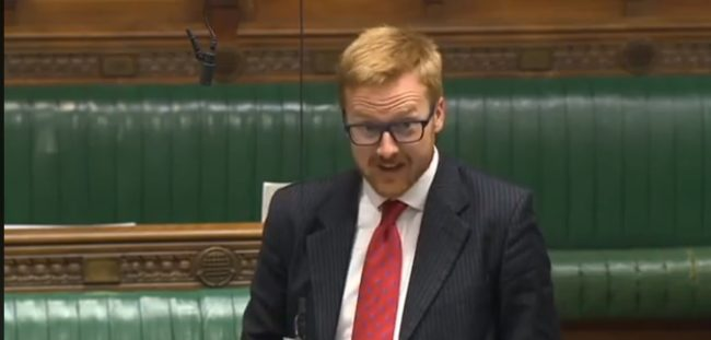 Lloyd Russell-Moyle speaks in Parliament