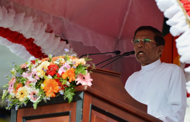 Sri Lanka president dissolves parliament in bid to end power struggle