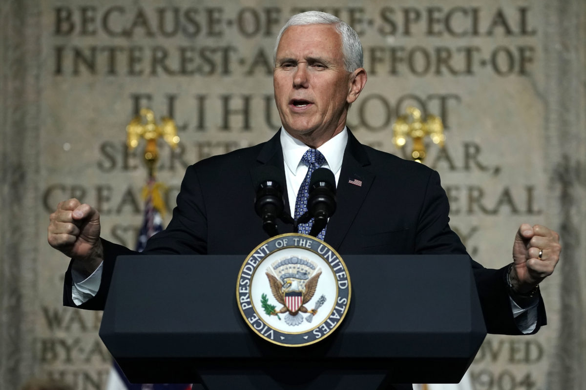 Mike Pence fails to mention gay people in World AIDS Day speech
