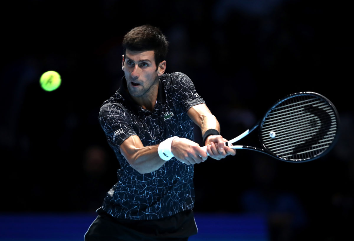 Novak Djokovic speaks about lack of out male tennis players