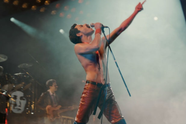A scene from Bohemian Rhapsody. Director Bryan Singer has been suspended from a BAFTA nomination amid sexual abuse claims