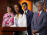 Rep. Mia Love at a press conference with Republican leaders (Chip Somodevilla/Getty)