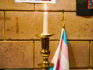 A candle marks the Transgender Day of Remembrance at a service in Washington, DC (Ted Eytan/Creative Commons)