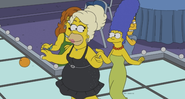 Homer and Marge Simpson (Fox)